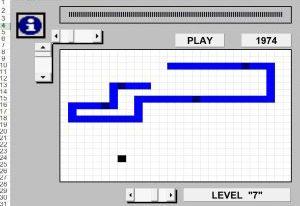 Juegos Hechos en Excel - Serpiente
