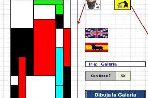Juegos Hechos en Excel - Piertmondriaan