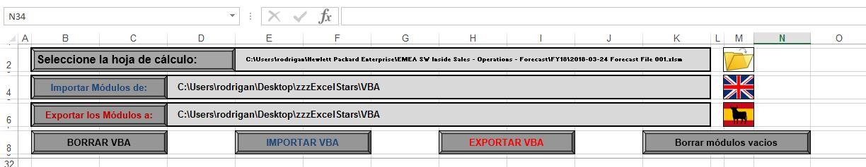 VBA transporter - VBA transporter Programa hecho en Excel