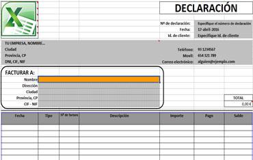 Plantillas para Facturas hechas en Excel - Plantillas de Facturas y Presupuestos hechas en Excel
