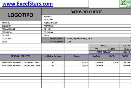Plantillas de Facturas en Excel - Plantillas de Facturas y Presupuestos hechas en Excel