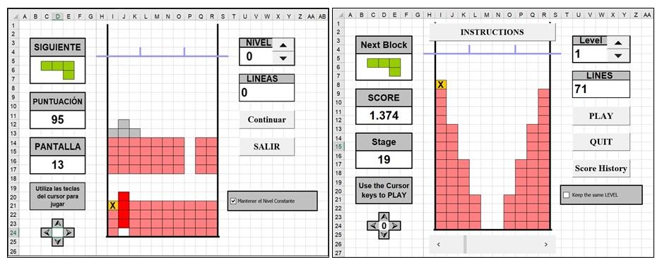 Juegos Excel Juegos Hechos En Excel Juegos Para Excel Experto En Excel Programas En Excel Programas Excel Para Empresas