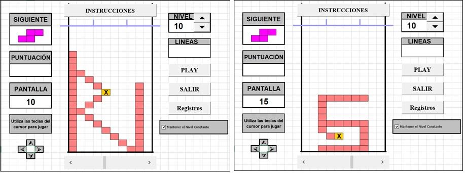 Tetris Para Excel Tetris Hecho En Excel Juego De Tetris Experto En Excel Programas En Excel Programas Excel Para Empresas